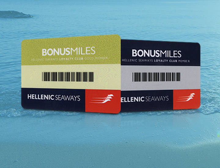 If you are a Βonus Miles card holder press here to integrate to Seasmiles!